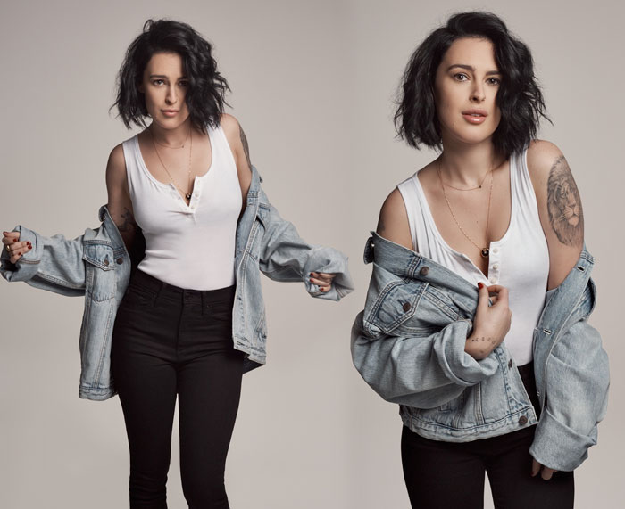 GAP Brings Back the '90s with Limited Edition Pieces - Rumer Willis