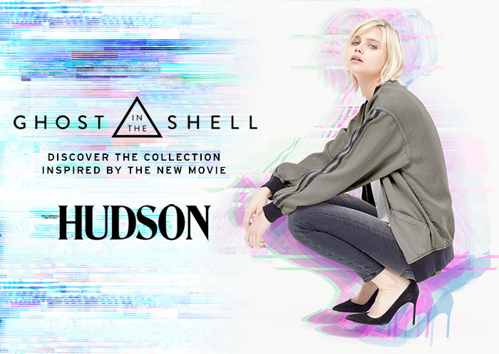 The Ghost In The Shell Collection by Hudson Jeans