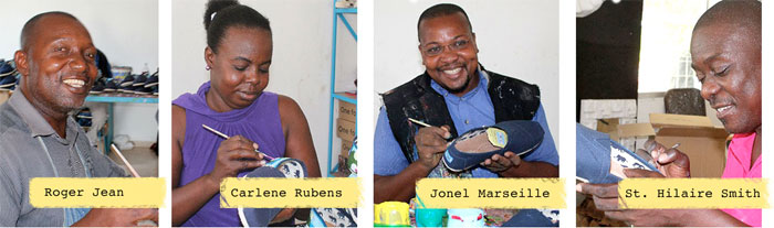 The TOMS Haiti Artist Collective - Artists