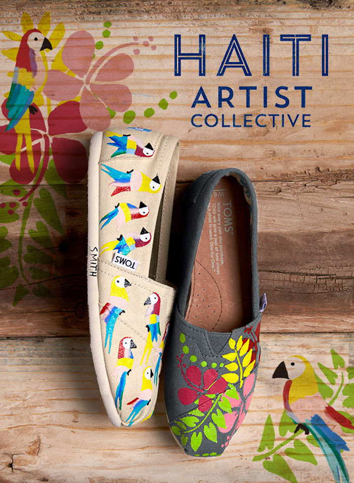 The TOMS Haiti Artist Collective