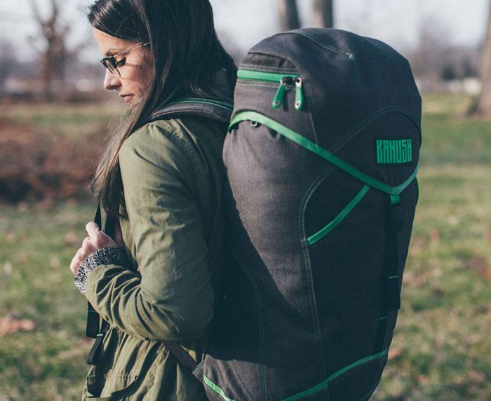 Innovative and Eco Friendly Hemp Bags by Kahush - Asa