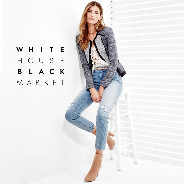 Denim for Every Occasion at White House Black Market