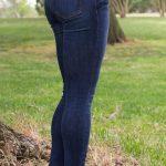 Fran Denim Kelly Crop Jeans Review - Back Closeup
