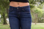 Fran Denim Kelly Crop Jeans Review - Front Closeup