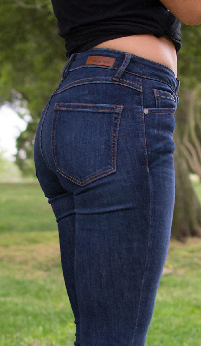 Fran Denim Kelly Crop Jeans Review - Back Detail