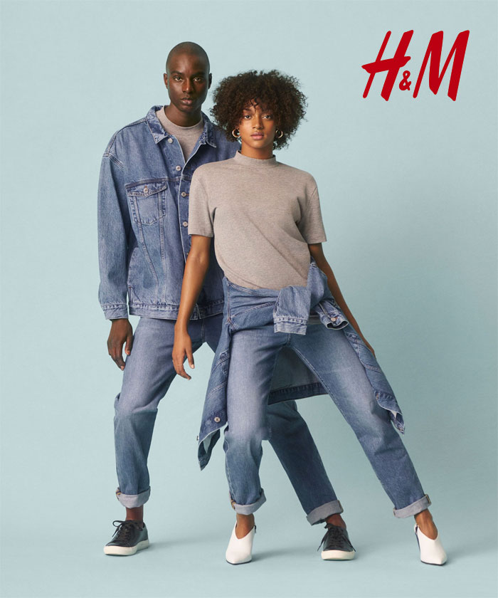 The New Sustainable Unisex Denim Line by H&M