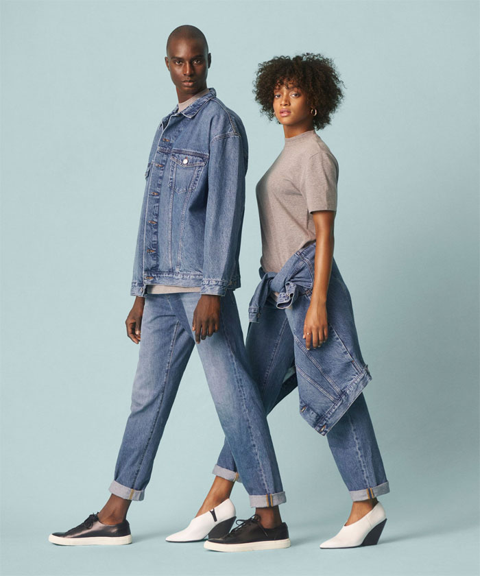 The New Sustainable Unisex Denim Line by H&M - Promo Image 2