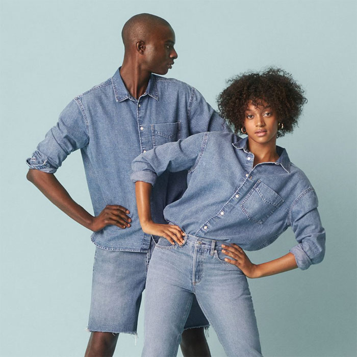 The New Sustainable Unisex Denim Line by H&M - Promo Image 3