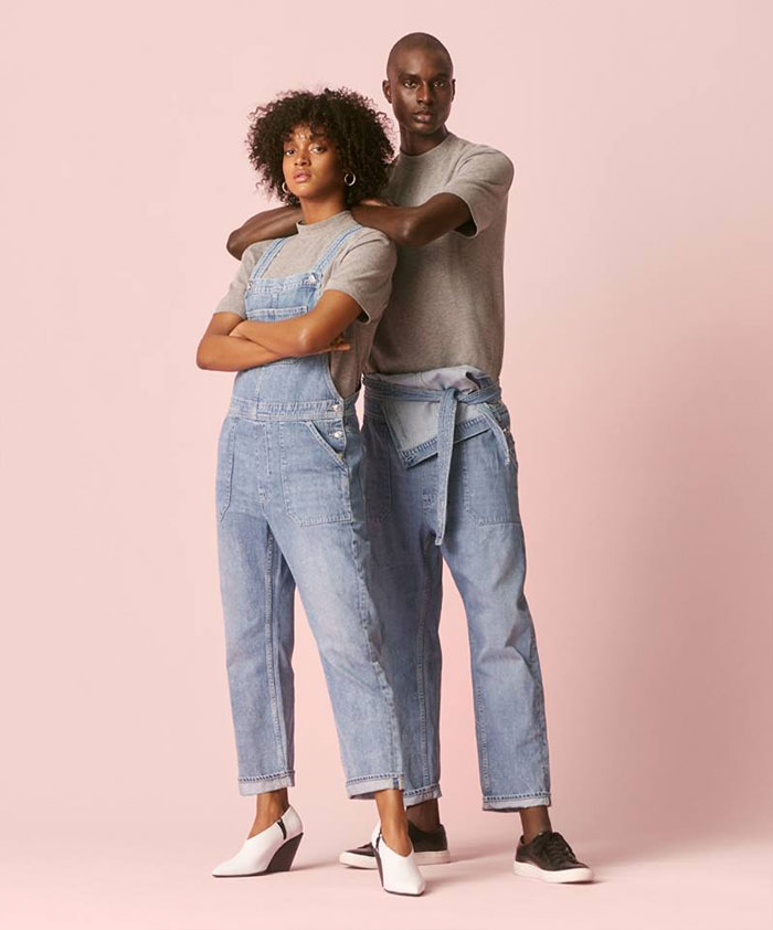 The New Sustainable Unisex Denim Line by H&M - Promo Image 4