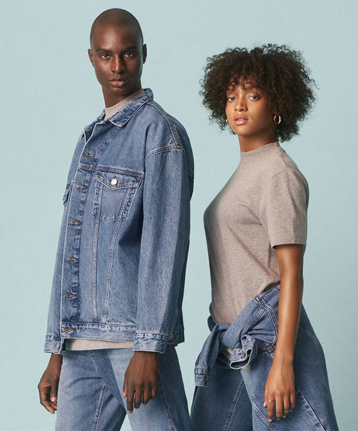 The New Sustainable Unisex Denim Line by H&M - Promo Image 6
