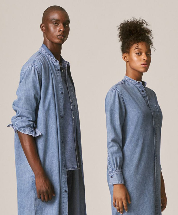 The New Sustainable Unisex Denim Line by H&M - Promo Image 7