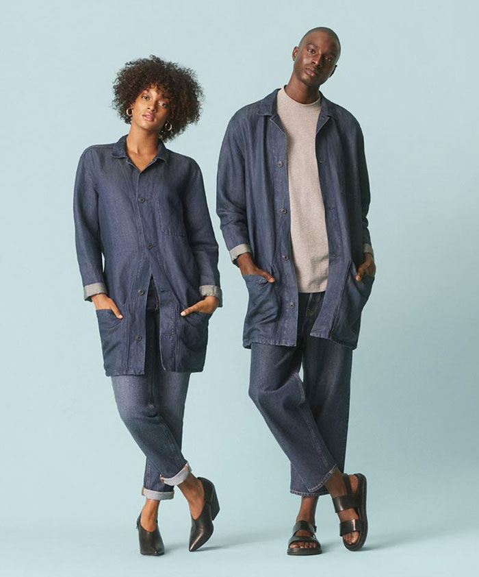 The New Sustainable Unisex Denim Line by H&M - Promo Image 8