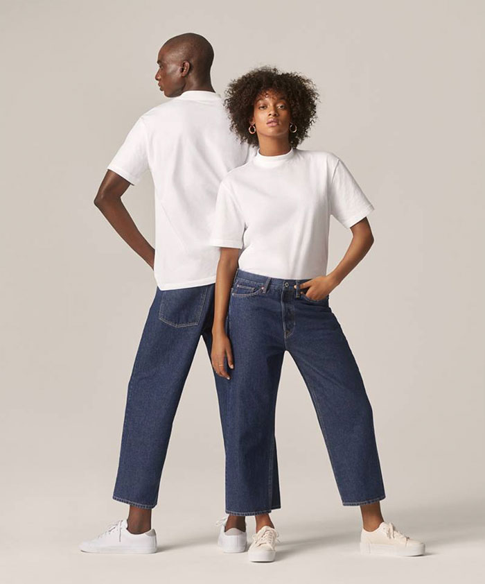 The New Sustainable Unisex Denim Line by H&M - Promo Image 9