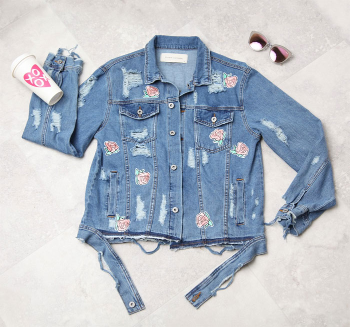 Embroidered Denim Jackets for Spring - James
