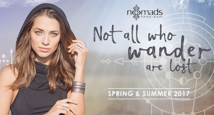 The Nomads Hemp Wear Spring and Summer 2017 Collection