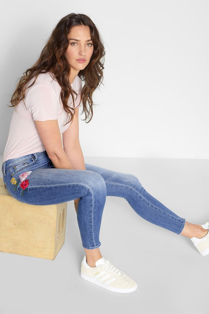 New Detailed Denim for Spring by 7 For All Mankind - Embroidered Skinny