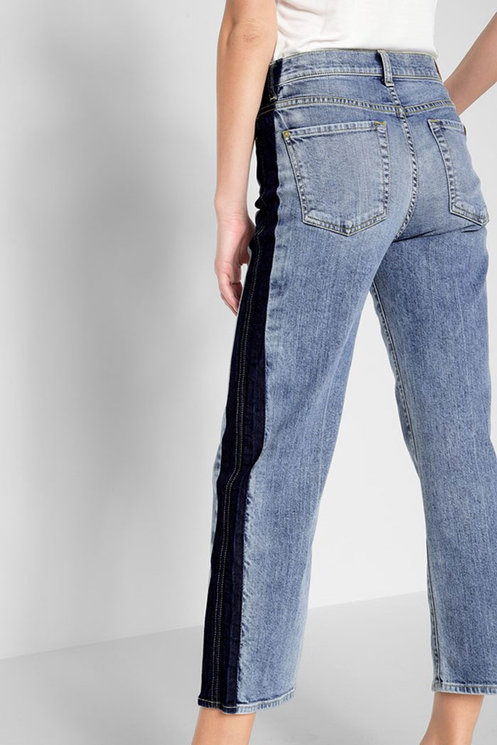 New Detailed Denim for Spring by 7 For All Mankind - Kiki Shadow Side
