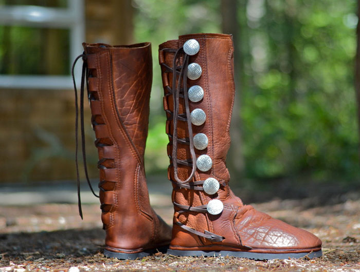 Custom Artisan Leather Footwear by Soul Path Shoes - Kirt Russell Action Boots