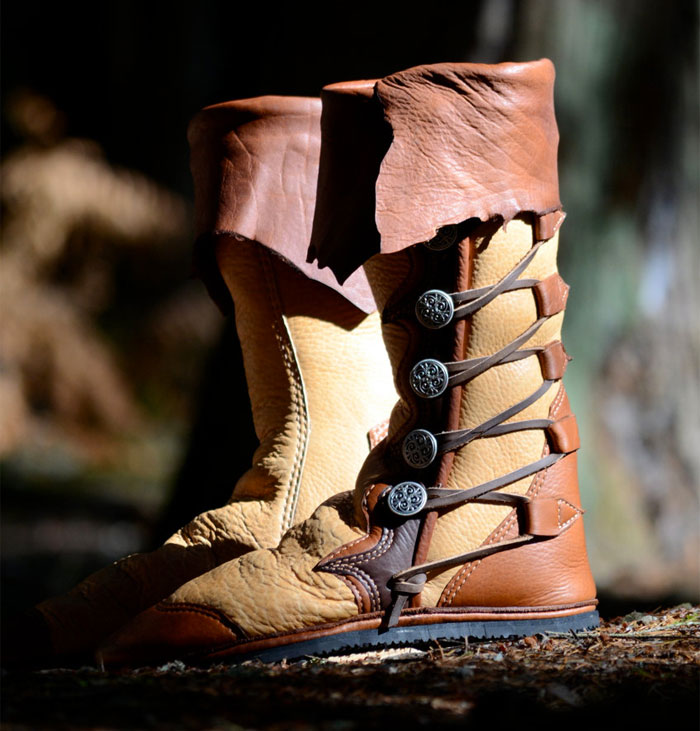 Custom Artisan Leather Footwear by Soul Path Shoes - Renaissance Boots