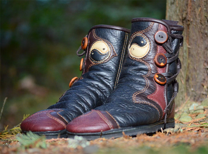 Custom Artisan Leather Footwear by Soul Path Shoes - Tao Yin
