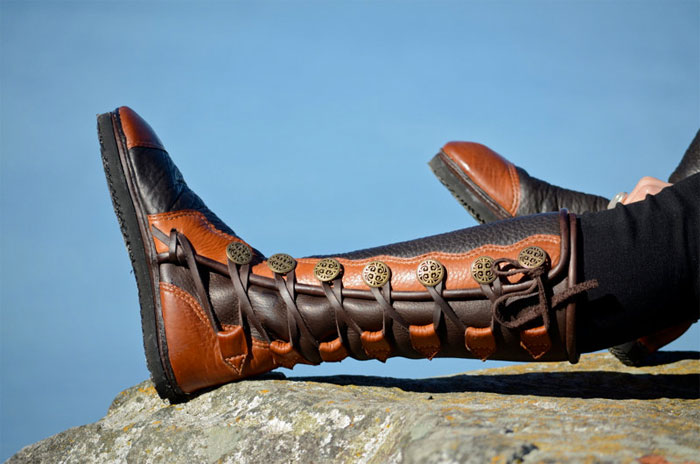 Custom Artisan Leather Footwear by Soul Path Shoes - Womens Moc Boots