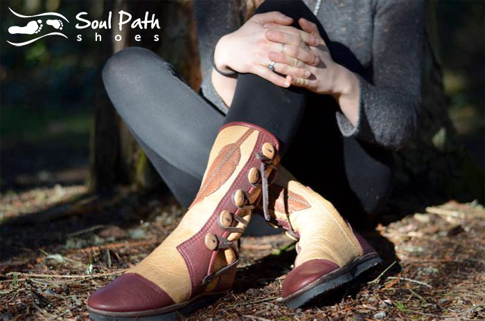 Custom Artisan Leather Footwear by Soul Path Shoes