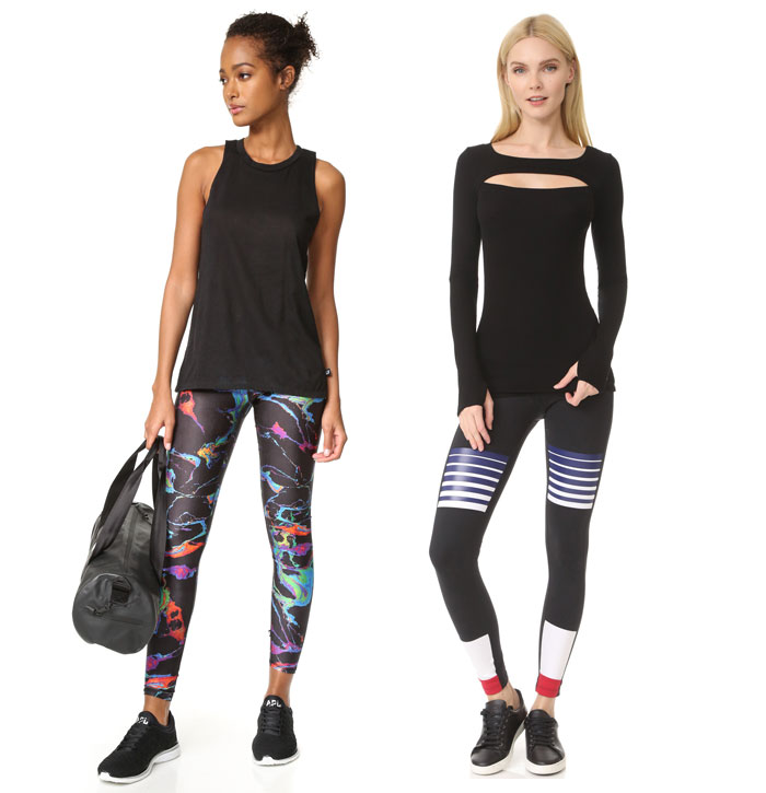 Shape Up for Summer with Eye Catching Leggings