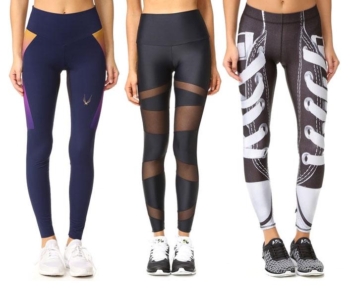 Shape Up for Summer with Eye Catching Leggings - Leggings 2