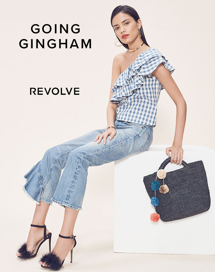 Flirty Black and White Gingham Looks from REVOLVE