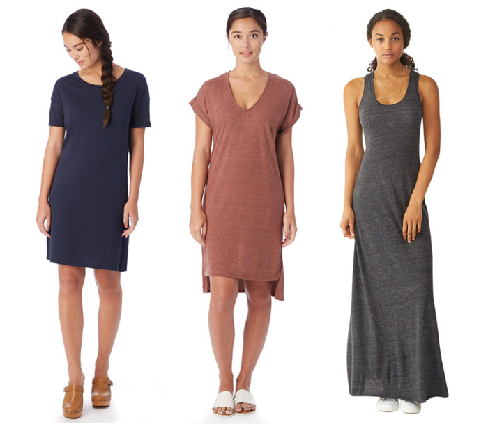 Sustainable and Soft Closet Essentials from Alternative - Dresses