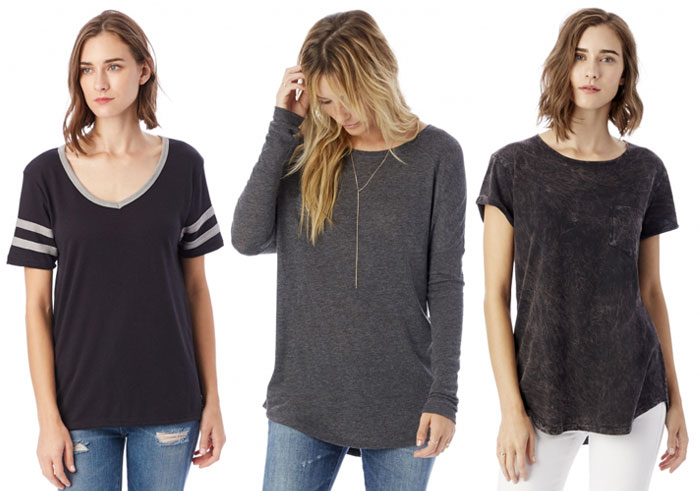 Sustainable and Soft Closet Essentials from Alternative - Tops