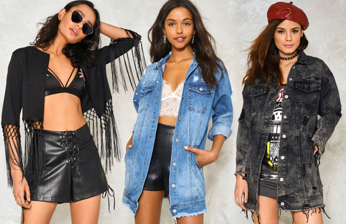 My Picks from the Nasty Gal 40% Off Sale - Denim And Fringe Jackets