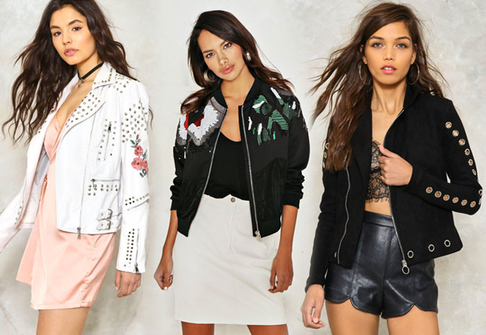 My Picks from the Nasty Gal 40% Off Sale - Jackets