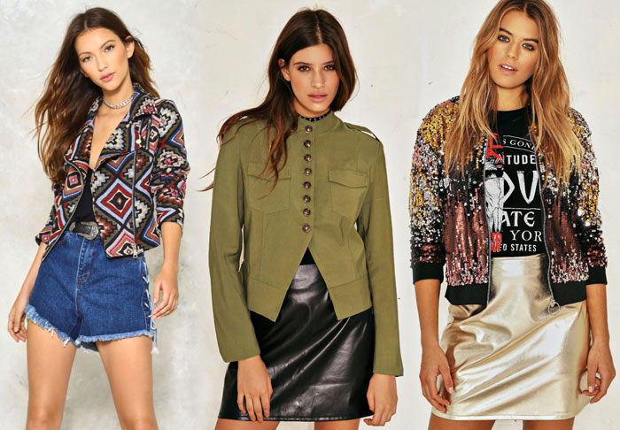 My Picks from the Nasty Gal 40% Off Sale - Jackets 2