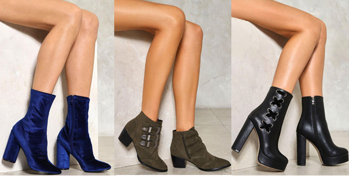 My Picks from the Nasty Gal 40% Off Sale - Shoes