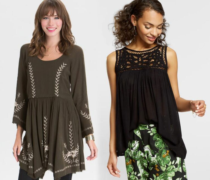 Apparel and Accessory Picks from Cost Plus World Market - Top And Dress