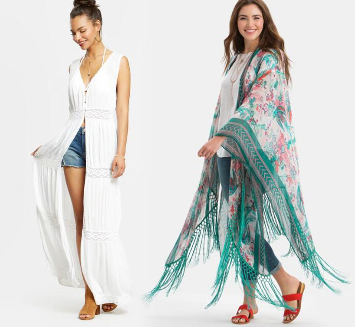 Apparel and Accessory Picks from Cost Plus World Market - Vest and Kimono