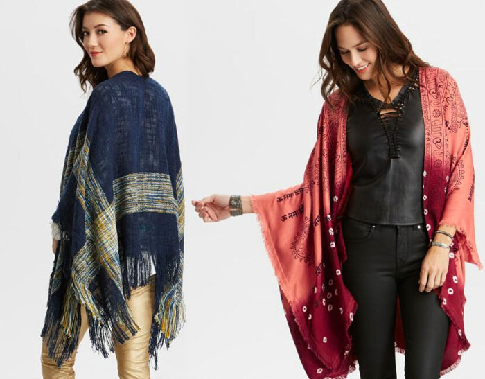 Apparel and Accessory Picks from Cost Plus World Market - Wraps