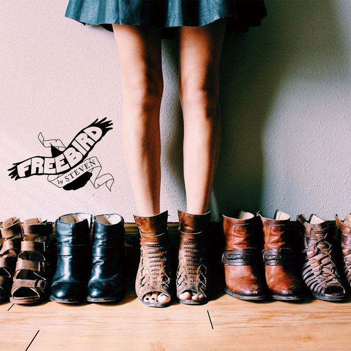 New Handcrafted Rugged Boots from Freebird by Steve Madden