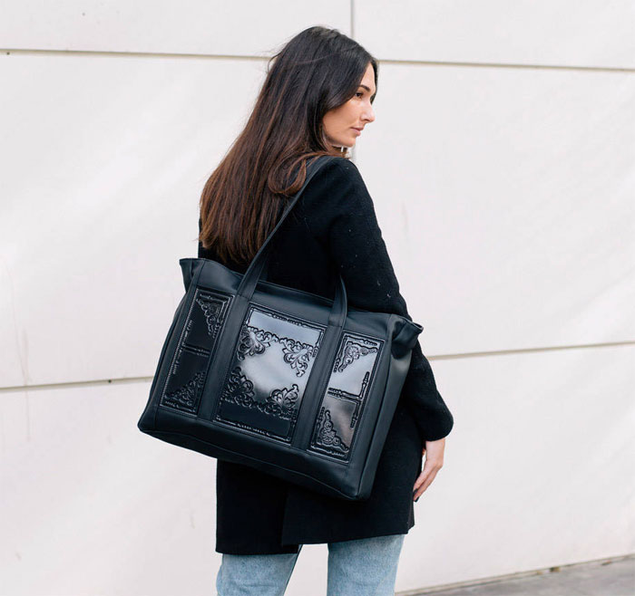 New Vegan Backpacks and Totes from MeDusa Bags - Decadent Dissonance f5a76e5b828dc