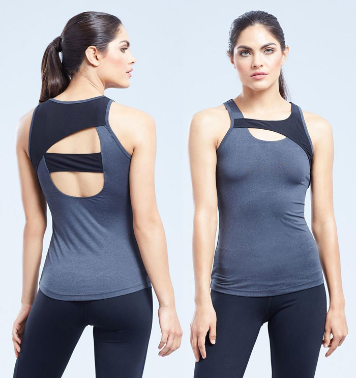 New Beautiful Activewear Designs from Zobha - Clara Tank (Front and Back)
