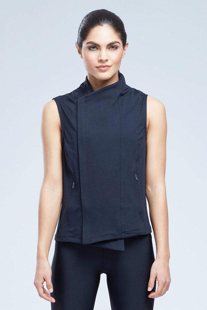 New Beautiful Activewear Designs from Zobha - Kate Vest