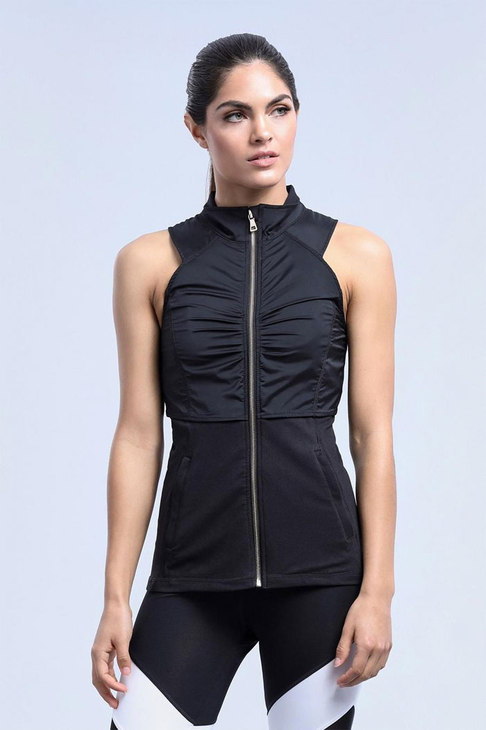 New Beautiful Activewear Designs from Zobha - Reagan Vest