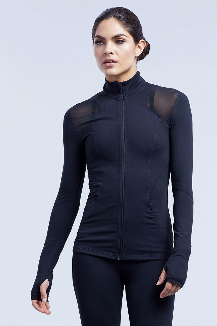 New Beautiful Activewear Designs from Zobha - Shelby Jacket