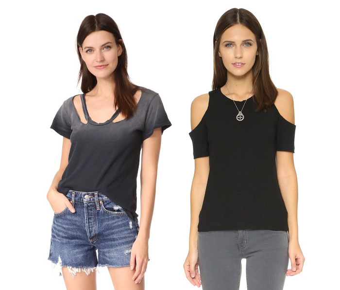 Go Beyond the Basic Tee with LNA - Tees 1