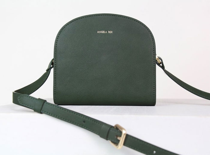 New Luxury Vegan Handbags by Angela Roi - Luna Crossbody