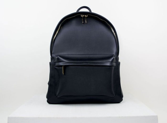 New Luxury Vegan Handbags by Angela Roi - Madison Backpack