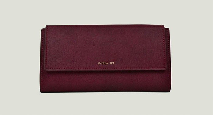 New Luxury Vegan Handbags by Angela Roi - Olivia E Wallet