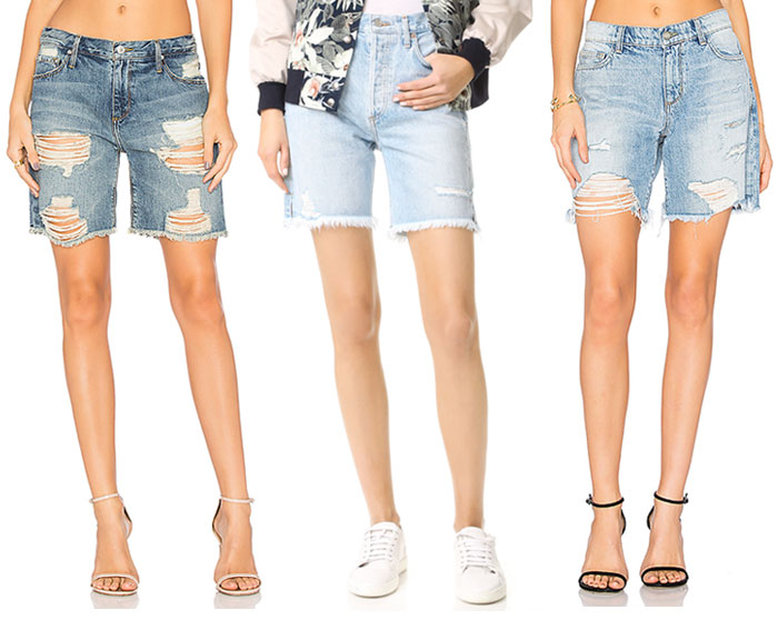 Knee Length Bermuda Shorts for Work or Weekends - Shorts 2