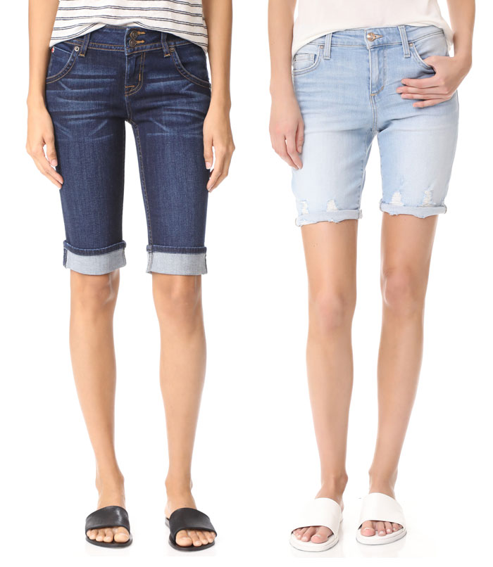 Knee Length Bermuda Shorts for Work or Weekends - Shorts 3